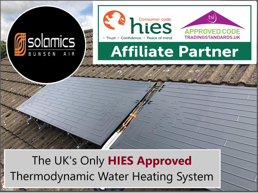 Solamics The Uk S Only Hies Approved Thermodynamic Water